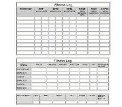 5 Blank Workout Sheet Samples Sample Templates Legrandcru Us