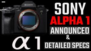 Sony A1 Announced : 50MP, 30fps, 8K ...