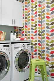 color and fun to the laundry room