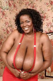 Shar's big black tits
