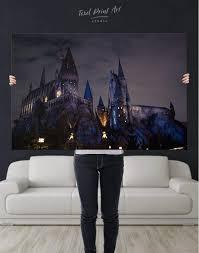 harry potter hogwarts canvas wall art