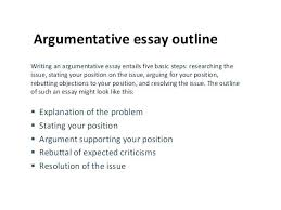 An Example Of An Argumentative Essay Examples Of Argumentative Essay Argument Essay Introduction Example