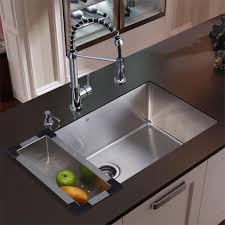kitchen sink and faucet combo home depot kitchen sink 33 x 22 stainless steel
