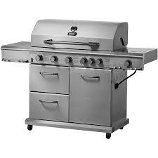 kenmore elite grill 6 burner. better homes and gardens 6-burner gas grill, stainless steel kenmore elite grill 6 burner