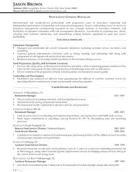casino manager resumes general manager resume template