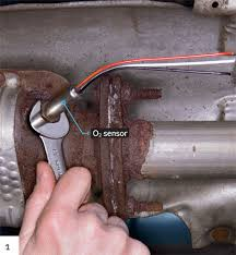 replace oxygen sensor o2 sensor circuit replacement 1 sometimes you get lucky the old sensor unscrewed easily
