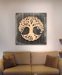 celtic tree of life reclaimed wood block on wall art tree of life wooden with all for holidays archives authenticmonogram authenticmonogram