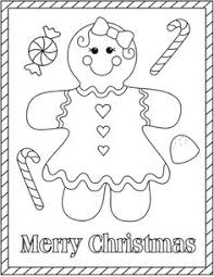 Free Christmas Coloring Pages Gingerbread Man Swifte Us