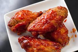cooked chicken wings.  Wings Inside Cooked Chicken Wings S