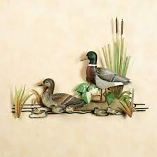 Byers choice carolers, lori mitchell figurines, department 56 villages, and much more available at the wooden duck shoppe. Mallard Family Metal Wall Sculpture