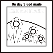 7 Days Of Creation Colouring Pages Printable Coloring Page For Kids