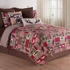 Forest Plaid Quilt Mini Bed Set - Full/Queen &  Adamdwight.com