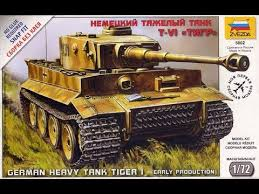 "<b>Сборная модель Немецкий</b> тяжелый танк T-VI ""Тигр"""