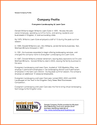 Business Profile Samples 24 company business profile sample Company Letterhead 1