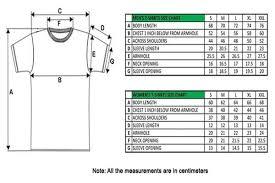 T Shirt Size Charts Personalized Tee Shirts Pants Pattern