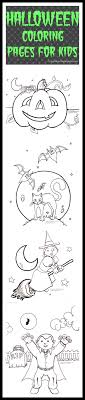 Free Printable Halloween Coloring Pages For