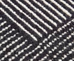 rug black and white. stripe rug round black and white o