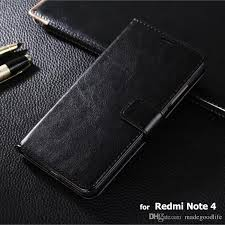 redmi note 4 case high quality crazy horse wallet flip leather case for xiaomi redmi note 4 note4 pouch cover coque skin cases cell phone wallet cell