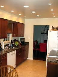 galley kitchen recessed lighting layout where to place lights in can light full size stylish spacing