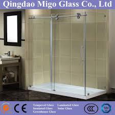 hot safety tempered glass sliding shower glass door sr9d014