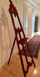 decorative wooden scroll tripod floor easel display pictures paintings for in lutz fl offerup