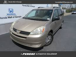 2005 Used Toyota Sienna 5DR CE FWD CARGO AT at Honda Mall of ...