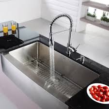 Kraus Kpf1612ksd30ch Single Lever Spiral Spring Kitchen Faucet With