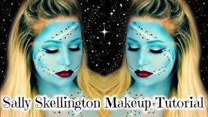 sally skellington makeup tutorial nightmare before christmas you