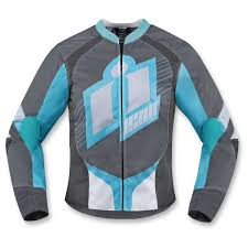 motorcycle jackets woman ping icon overlord women grey icon leather riding jacket official website