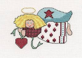 Angel Cross Stitch Patterns Adorable Country Angel Cross Stitch Pattern Angels