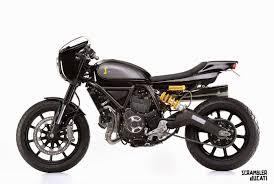 italy ducati unveils three custom scramblers at verona motor bike
