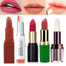 stock promotion matte lipstick makeup cosmetics lip tint stick korean lipsticks beauty make up lip