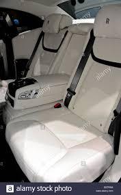 rolls royce phantom white interior. rollsroyce phantomwhite leather interiorparis motor showfrance rolls royce phantom white interior