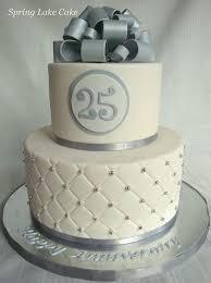 Silver Anniversary Cake My 25 Wedding Anniversary 25 Anniversary
