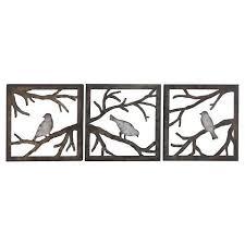 metal bird wall art