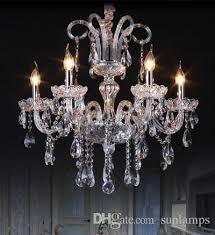modern dining room led crystal chandelier crystal lighting baby room kids room hanging crystal lamp bedroom home pendant lighting pillar candle chandelier