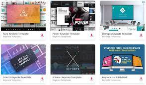 Keynote Templates Top 37 Free Templates For Apple Keynote 2019 Colorlib