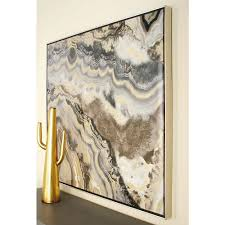 marble inspired framed canvas wall art 52074 the home depot on rectangular framed wall art with litton lane 40 in marble inspired framed canvas wall art 52074