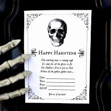 Blank Halloween Invitation Templates Free Halloween Invite Template Awesome Free Printable