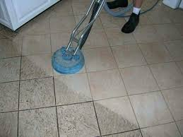 best way to clean ceramic tile floors and grout