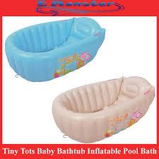 tiny tots baby bathtub inflatable pool bath tub large size