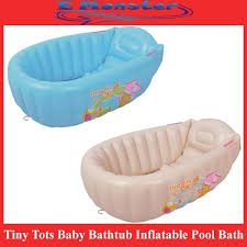 tiny tots baby bathtub inflatable pool bath tub large size