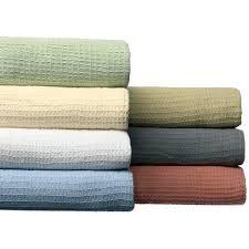 thermal cotton blanket. All-season Cotton Thermal Blanket