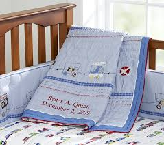 Ryder Baby Quilt | Pottery Barn Kids & Ryder Baby Quilt Adamdwight.com