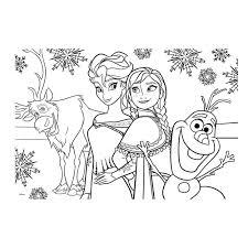 25 Printen Frozen Anna En Elsa Kleurplaat Mandala Kleurplaat Voor