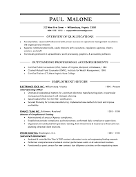undergraduate resumes