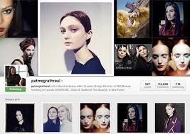 best makeup artists on insram pat mcgrath top 10 most por