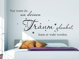 Wandtattoo Nur Wenn Du An Deinen Traum Glaubst Wandtattoosde