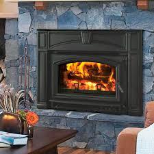wood burning fireplace insert voyageur