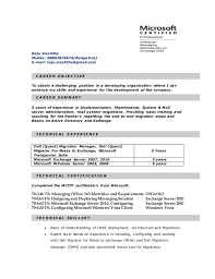 Office 365 Resume Resume